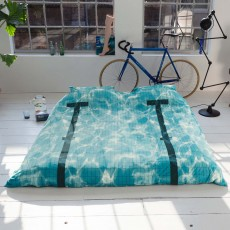 Snurk Pool Duvet Cover Set Blue