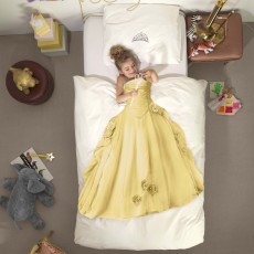 Snurk Princess Duvet Cover Set Yellow