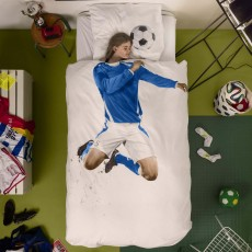 Snurk Soccer Champ Duvet Cover Set Blue