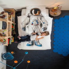 Snurk Astronaut King Duvet Cover Set