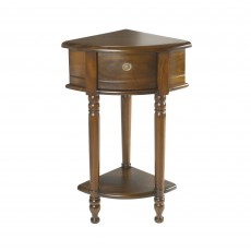 Triage Mahogany Corner Hall Table