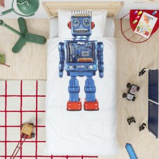 Snurk Robot Duvet Cover Set