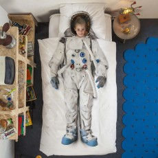 Snurk Astronaut Single Duvet Cover Set