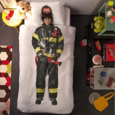 Snurk Firefighter Duvet Cover Set