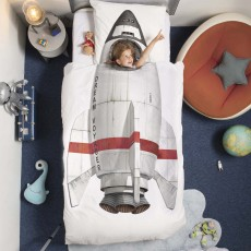 Snurk Rocket Duvet Cover Set