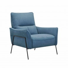 Ringa Armchair Fabric Blue