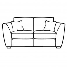 Collins & Hayes Henderson 2 Seater Sofa Fabric A