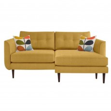 Orla Kiely Linden 4 Seater Sofa With Chaise Fabric A