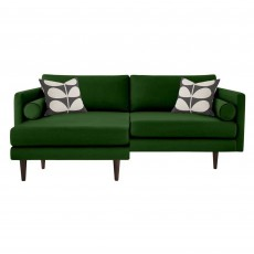 Orla Kiely Mimosa 4 Seater Sofa with Chaise Fabric B