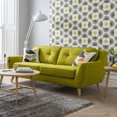 Orla Kiely Laurel 2.5 Seater Sofa Fabric A
