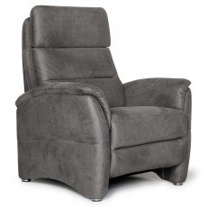 Fjord Static Armchair Suede Grey