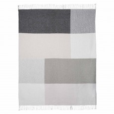 Scatter Box Riley Throw 127cm x 178cm Grey