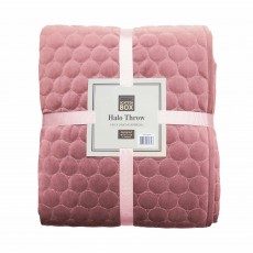Scatter Box Halo Throw 140cm x 240cm Blush