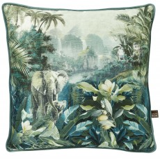 Scatter Box Malawi Cushion 45cm x 45cm Green