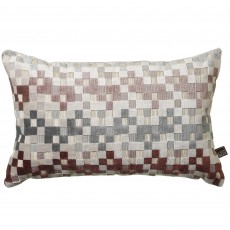 Scatter Box Puzzle Cushion 35cm x 50cm Blush