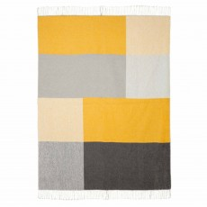 Scatter Box Riley Throw 127cm x 178cm Ochre
