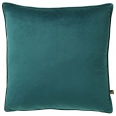 Scatter Box Bellini Velour Cushion 45cm x 45cm Teal