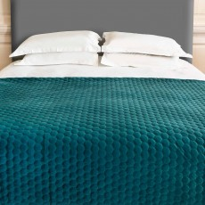 Scatter Box Halo Throw 140cm x 140cm Teal
