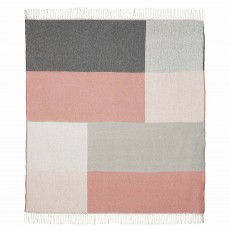Scatter Box Riley Throw 127cm x 178cm Blush