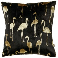 Scatter Box Gisele Cushion 43cm x 43cm Black/Gold