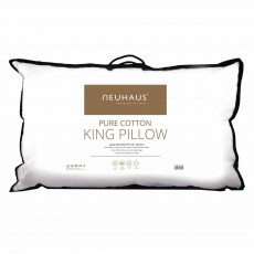 NeuHaus Pure Cotton King Pillow