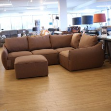 Mason 4+ Fabric Corner Sofa With Footstool (Available in Galway & Kilkenny) WAS €2,385 NOW €1,349