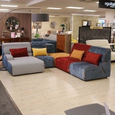 Egoitaliano Babouche 4+ Seater Fabric Sofa (Available in Galway & Kilkenny) WAS €5,432 NOW €2,999