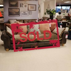 Alexander & James Bloomsbury 4 Seater Sofa SOLD