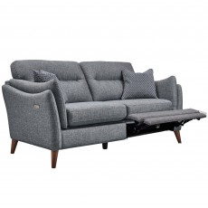 Belize 2 Seater Sofa Fabric with Electric Footrest