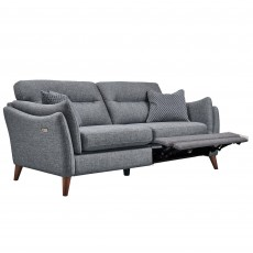 Belize 3 Seater Sofa Fabric with Electric Footrest