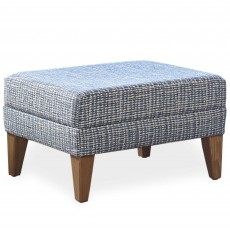 Cintique Lydia Footstool Fabric D