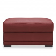 Egoitaliano Doris Square Footstool Leather Category B