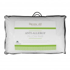 Dreamworld Anti-Allergy Pillow Pair