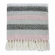 Helena Springfield Liv/Arken Woven Knitted Throw 130cm x 150cm Blush