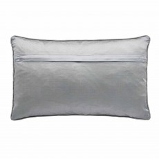 Peacock Blue Hotel Ayana Cushion 30cm x 50cm Gunmetal