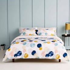 Christy Living Nova Reversible Duvet Cover Set Multi Coloured