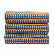 Christy Carnaby Stripe Towel Multi Coloured