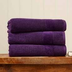 Christy Prism Towel Crushed Grape