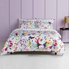 Christy Living Eden Reversible Duvet Cover Set Multi Coloured