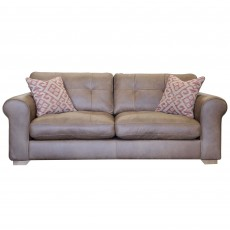 Alexander & James Pemberley 3 Seater Sofa Byron, Indiana, Satchel or Tote Leather