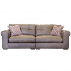 Alexander & James Pemberley 4 Seater Sofa Byron, Indiana, Satchel or Tote Leather
