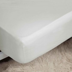 "Belledorm 400 Thread Count Egyptian Cotton Double Fitted Sheet (18"") Ivory"