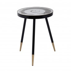 Mindy Brownes Bellatrix Side Table Black & Gold
