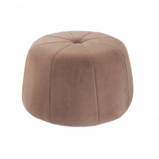 Mindy Brownes Myla Ottoman Stool Fabric Taupe
