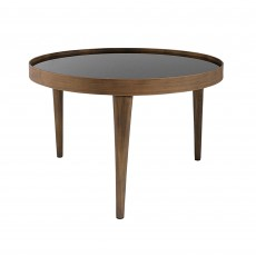 Mindy Brownes Reese Medium Table Antique Effect With Black Smoked Glass