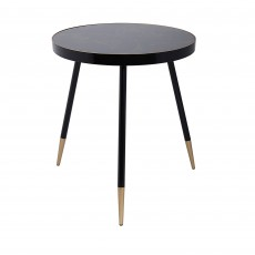 Mindy Brownes Venus Side Table Black & Gold