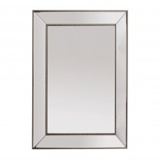 Mindy Brownes Ambar Rectangular Mirror Antique Gold