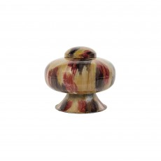 Mindy Brownes Amara Small Vase Red, Brown & Cream