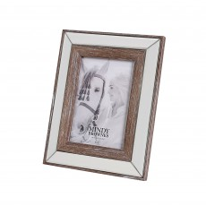 "Mindy Brownes Amelia Photo Frame (5"" x 7"") Distressed Wood"