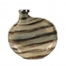 Mindy Brownes Nylah Small Vase Champagne & Brown